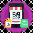 Qr Code Quick Response Code Mobile Qr Icon