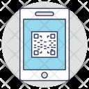 Mobile QR Icon