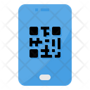Mobile Qr Code Icon