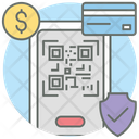 Mobile Qr Code Product Code Mobile Code Scanner Icon