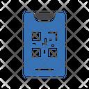 Qr Mobile Code Icon