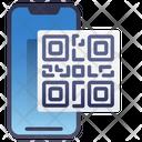 Mobile Qr Code Icon