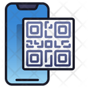 Mobile Qr Code Scan Mobile Icon