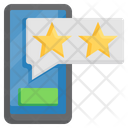 Mobile Rating Rating App Feedback Icon