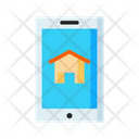 Mobile Real Estate Online Property Booking Mobile Property Icon