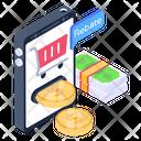 Ecommerce Mcommerce Mobile Rebate Icon