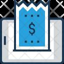 Mobile Receipt Icon