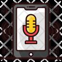 Mobile Recorder Online Recorder Recording Application Icon