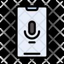 Mobile Audio Voice Icon