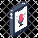 Phone Recorder Mobile Recorder Recording App Icon