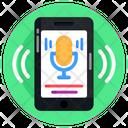 Mobile Recorder Sound Recorder Voice Recorder Icon