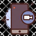 Mobile Recording Icon