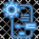 Smartphone Service Support Icon