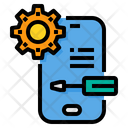 Smartphone Service Support Icon