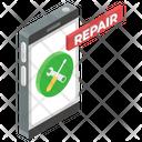 Mobile Repair Smartphone Maintenance Mobile Fixing Icon