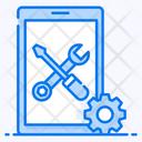 Mobile Repair Mobile Development Mobile Setting Icon