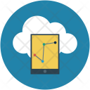 Icloud Online Graphs Icon