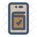 Mobile Reservation Untact Booking Icon