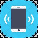 Mobile Ringing Vibrating Icon