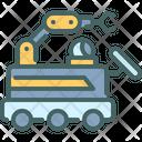 Mobile Automation Machine Icon