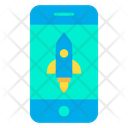 Mobile Rocket Icon