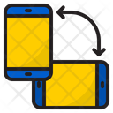 Rotate Smartphone Mobilephone Icon