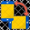 Mobile Rotate Rotate Smartphone Icon
