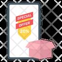 Mobile Sale Icon
