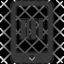 Barcode Code Hand Icon