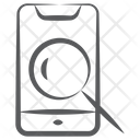 Mobile Scanning Phone Scanning Search Mobile Icon