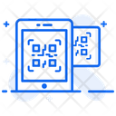 Mobile Scanning Qr Code Code Scanning Icon