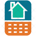 Mobile Screen House Icon