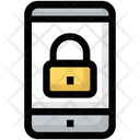 Mobile Lock Security Icon