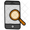Investigation Mobile Finding Mobile Search Icon