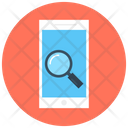 Mobile Search Mobile Magnifier Icon