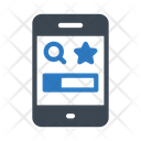 Mobile Browser Phone Icon