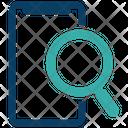 Mobile Search Magnifier Smartphone Icon