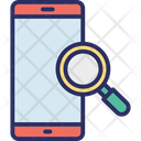 Cell Phone Magnifier Magnifying Icon