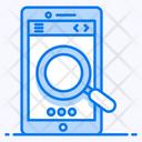 Mobile Search Search Bar Smartphone Search Icon