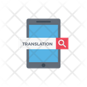 Search Translation Mobile Icon