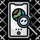 Mobile Search Icon