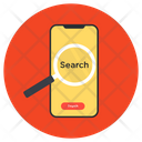 Mobile Search Mobile Browser Search Phone Icon