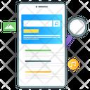 Seo Mobile Search Mobile Explore Icon
