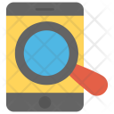 Mobile Search Engine Icon