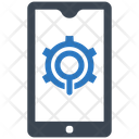 Mobile Seo Search Engine Smartphone Icon