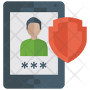 Mobile Security Mobile Password Android Antivirus Icon