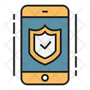 Mobile Phone Security Icon