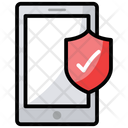 Verified Security Mobile Security Phone Protection Icon