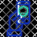 Mobile Shield Icon