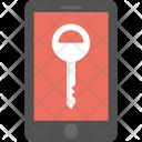 Mobile Key Password Icon